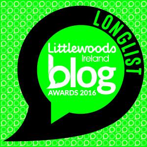 Blog Awards Ireland Longlist